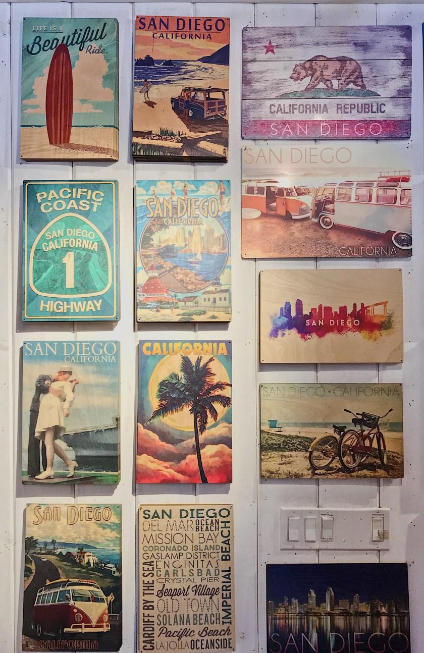 San Diego inspired prints