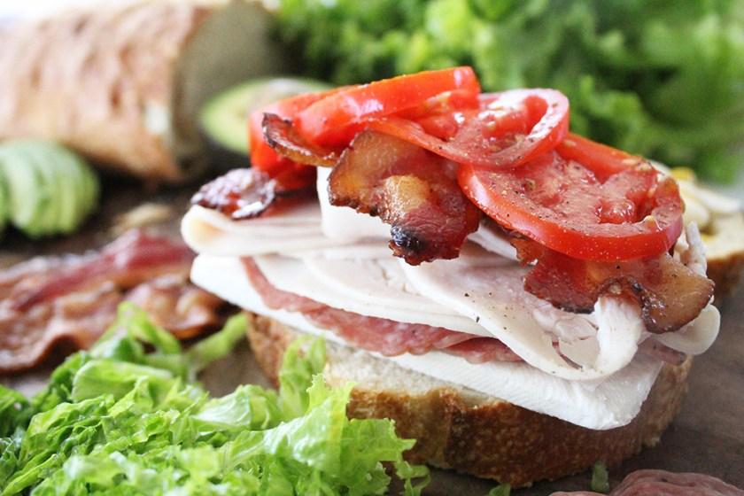 Pile your sandwich high