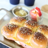 Everything Ham And Cheese Sliders
