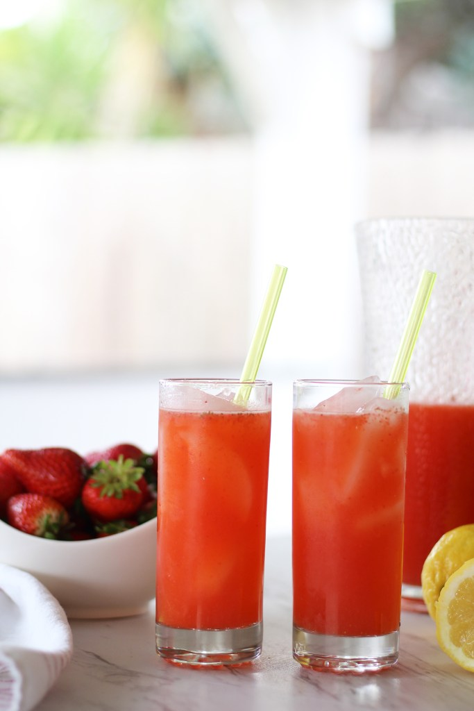 how to make strawberry lemonade for kids