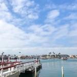 Balboa island at Newport Beach