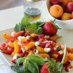 Strawberry Apricot Salad