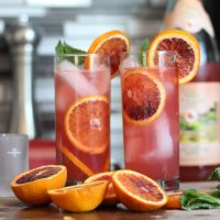 Italian Blood Orange Vodka Soda