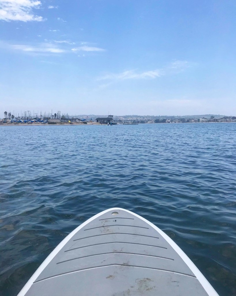Where to rent a paddle board in mission bay