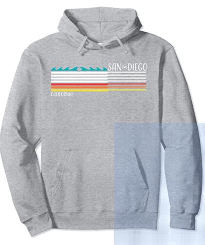 San Diego, CA Hoodie Sweatshirt