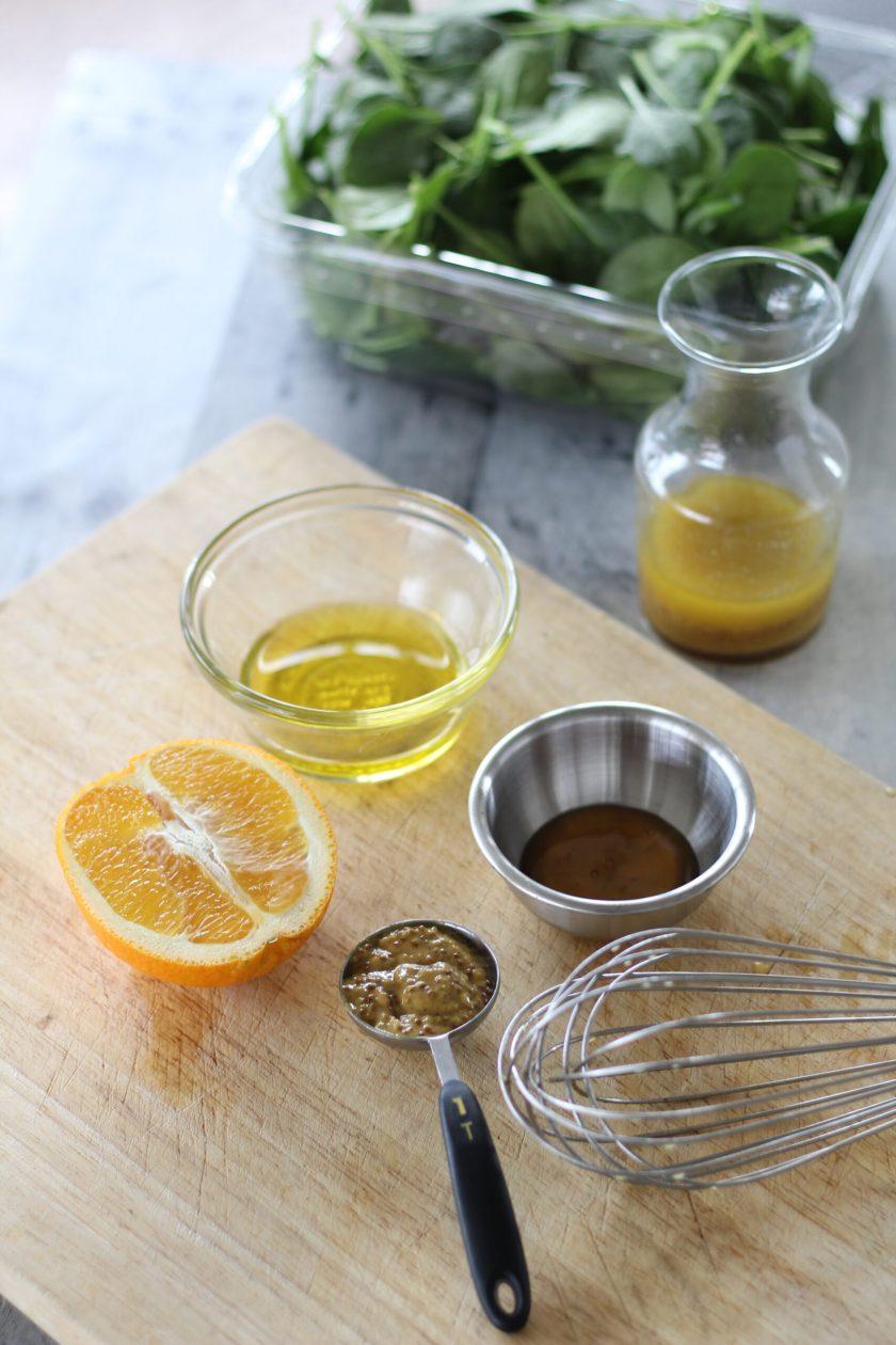 Orange Honey Mustard Vinaigrette