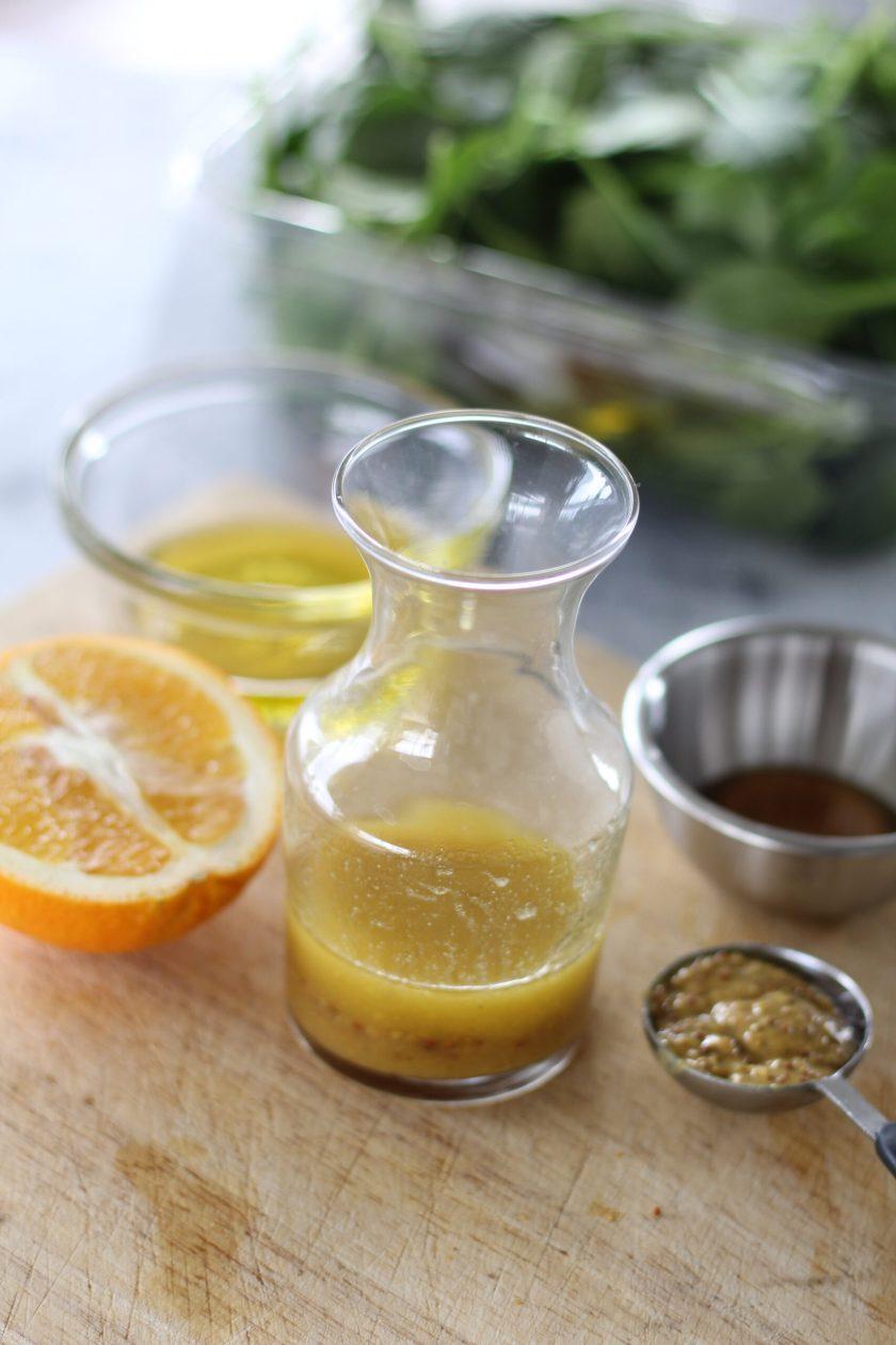 Orange Honey Mustard Salad Dressing