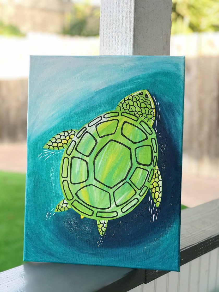 Paint a Sea Turtle