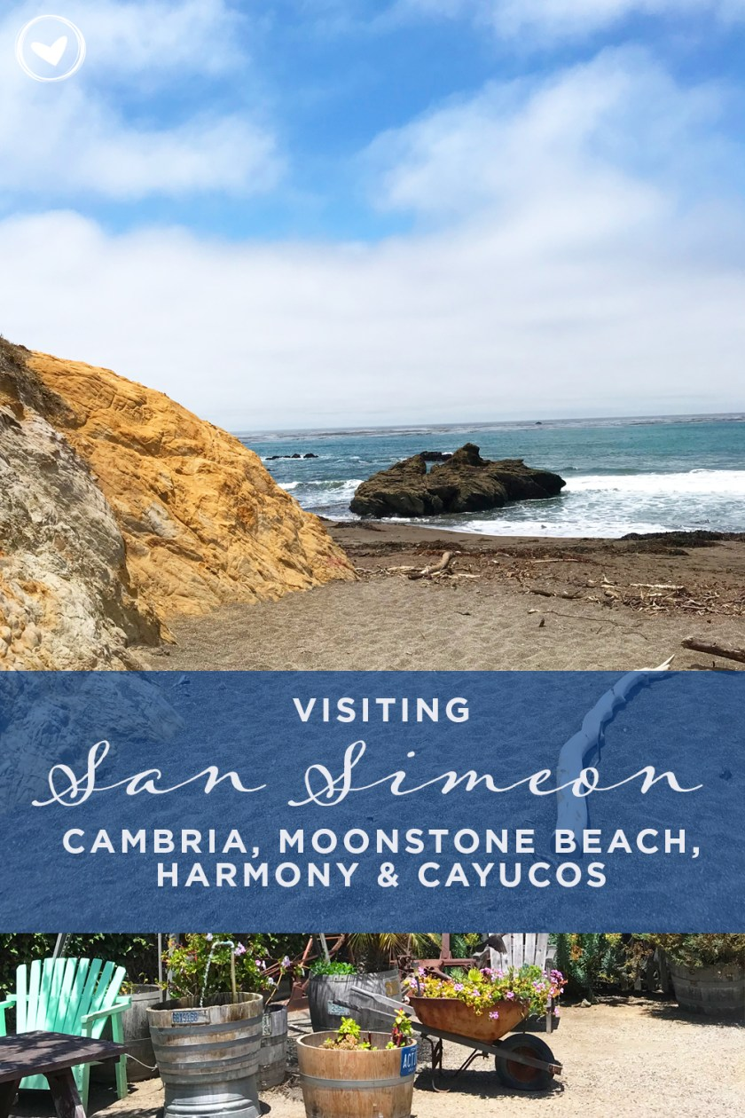 Visiting San Simeon