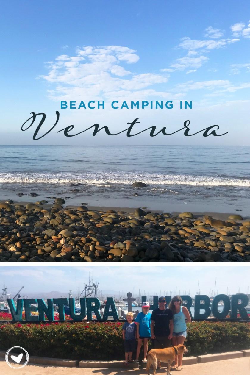 Beach Camping in Ventura, CA