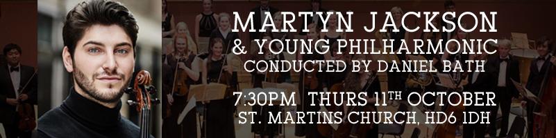 Martyn Jackson Concert