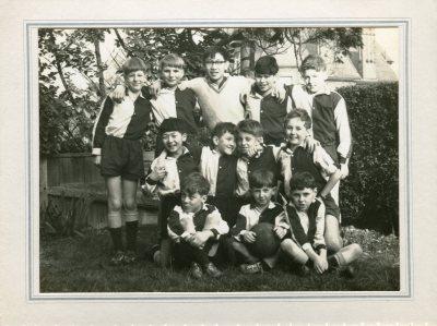 St Adrian's school Kingston football team 1962- photo Mr Trebacz