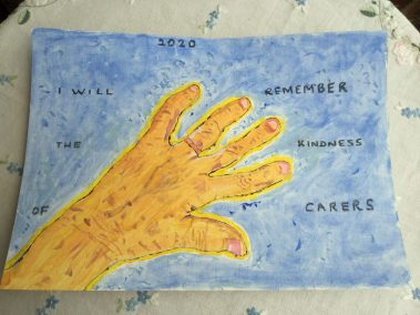 I will remember the kindness of carers by Mavis Green