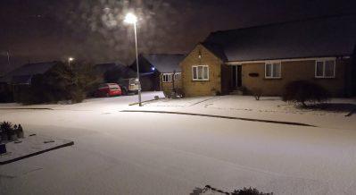Early virgin snow by David Wrigley