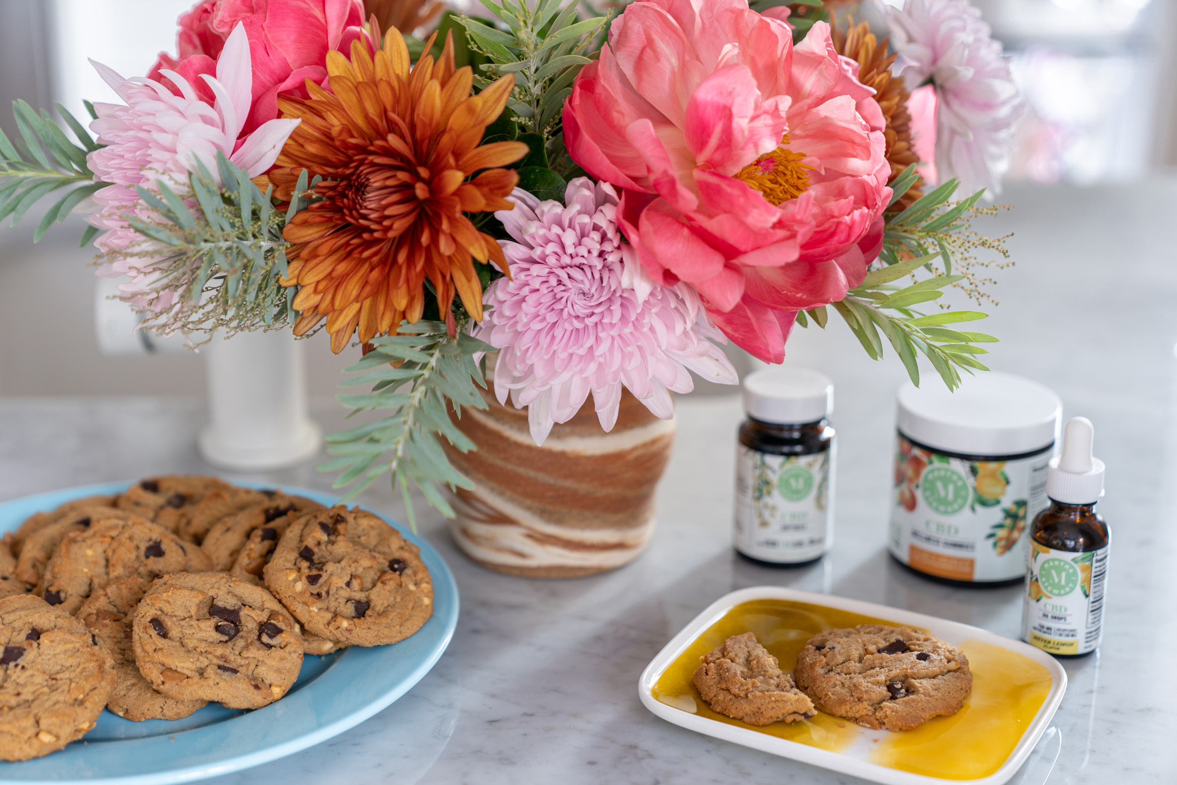 finding and creating moments of calm review of martha stewart cbd