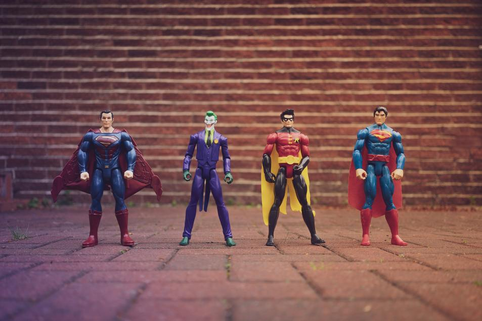 The evolution of the events team from heroes to superheroes