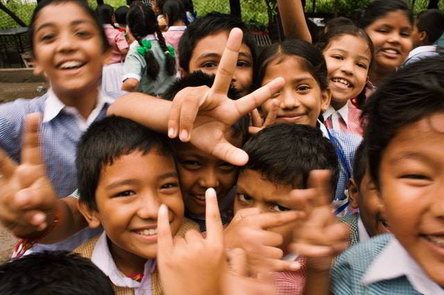 Dyslexia - Happy students.