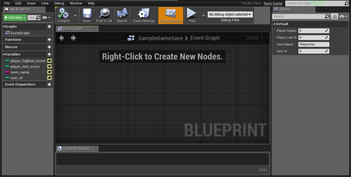 How to save and load game saves in unreal engine 4 bright developers you can think of the savegame class as a special container object that ue4 uses to store information you want to save malvernweather Image collections