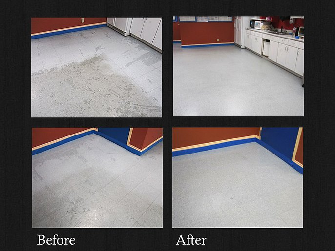 commercial flooring vct tile stripping