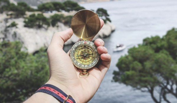 Pictured: A compass symbolizing the culture journey experience. The culture journey experience was created to combine peer learning with targeted education based on facts and fundamentals about culture, climate, and change management that are not widely recognized.