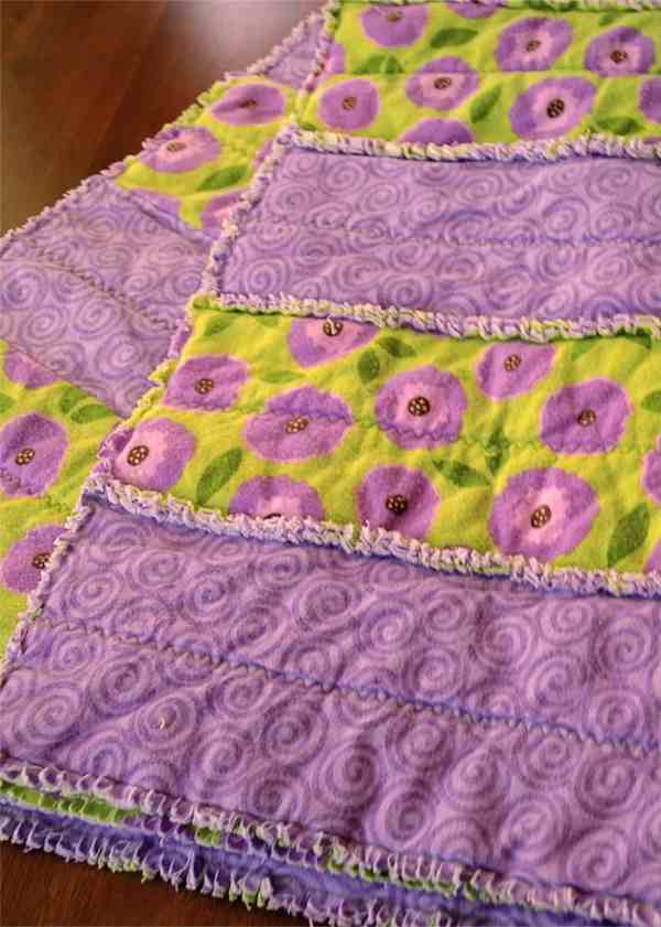 Rag Quilt Tutorial and Instructions