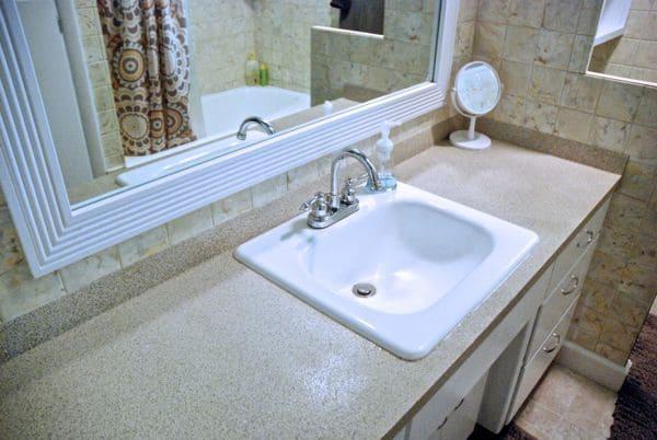 DIY Granite Sprayed Counters