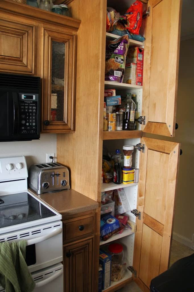building a pantry cabinet | Building a Kitchen Pantry on a Budget
