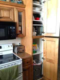 pantry kitchen cabinets building a kitchen pantry on a budget 1412