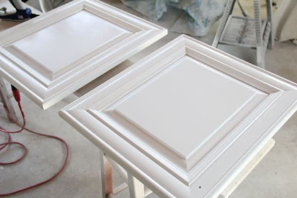 Get a professional finish painting your cabinets