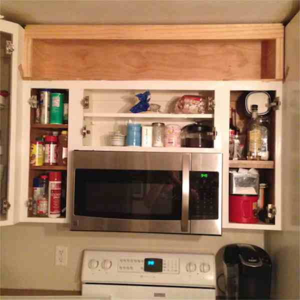 Cutting Kitchen Cabinets: Molding Cabinets Angles Crown Cutting Kitchen
