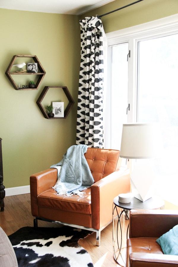 DIY Pinch Pleat Curtains