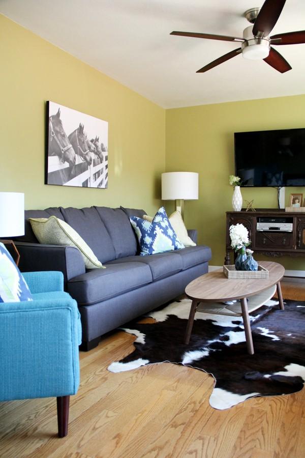 Modern Cowboy Living Room