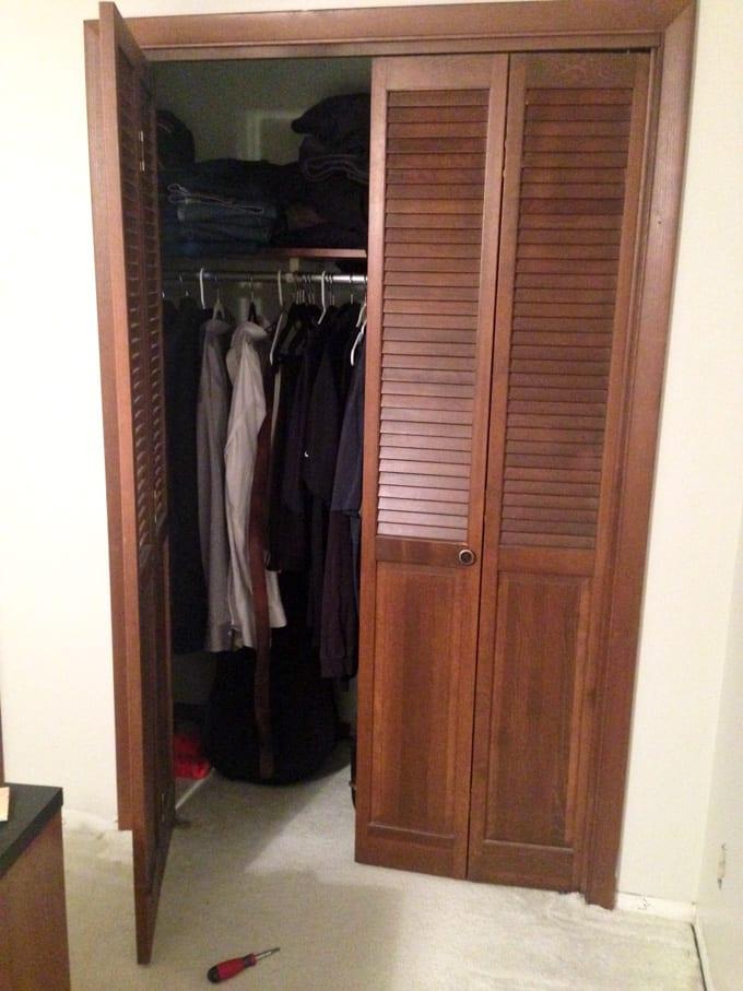 French Closet Door DIY-3