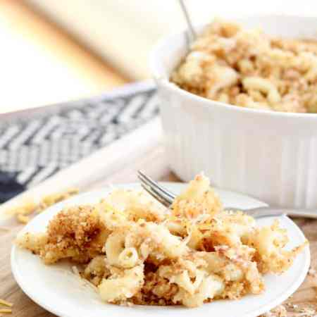 Bacon and Parmesan Gruyere Macaroni and Cheese