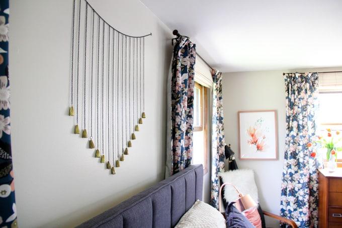 Modern Floral Master Bedroom-13