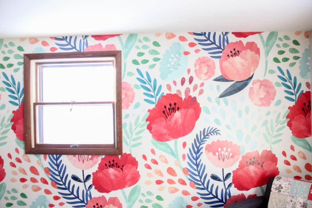 Floral Modern Wallpaper