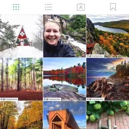 BrightGreenOutdoors Instagram