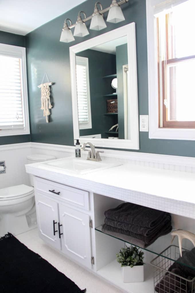 26 Trendy Penny Tile Ideas For Bathrooms