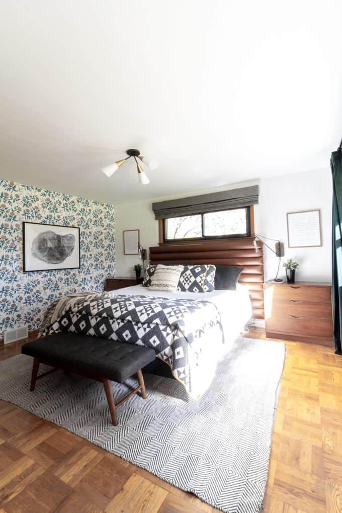 master bedroom art simple modern