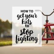 How to Help Kids Stop Fighting