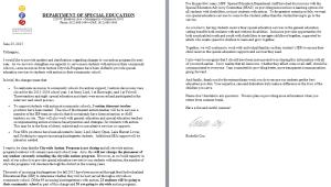 Rochelle Cox's June 23 letter