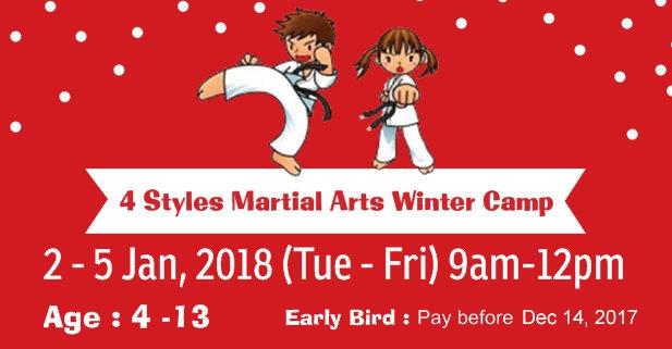 Karate Winter Camp