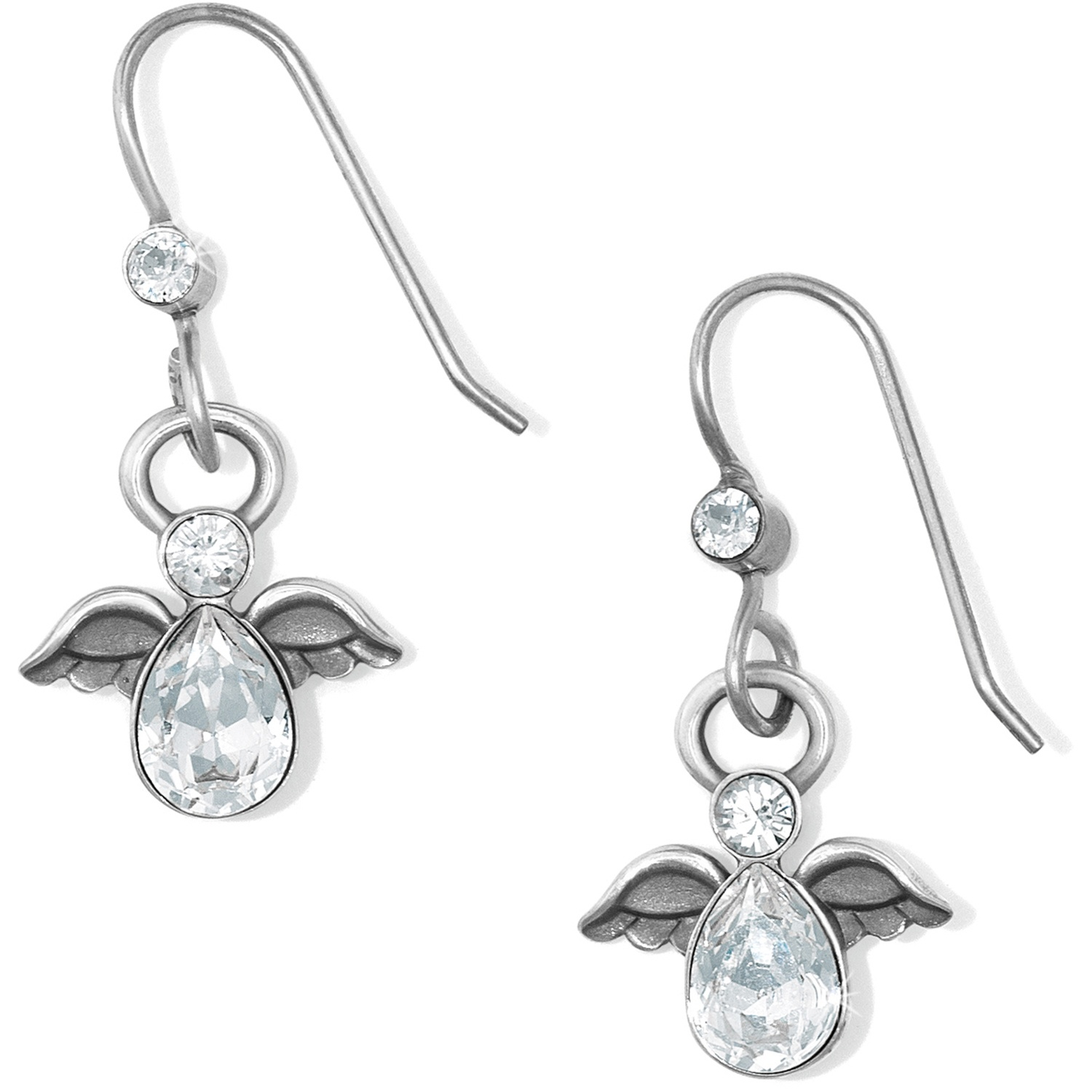 Bright Earrings Diamonds In 18kt White Gold Earrings