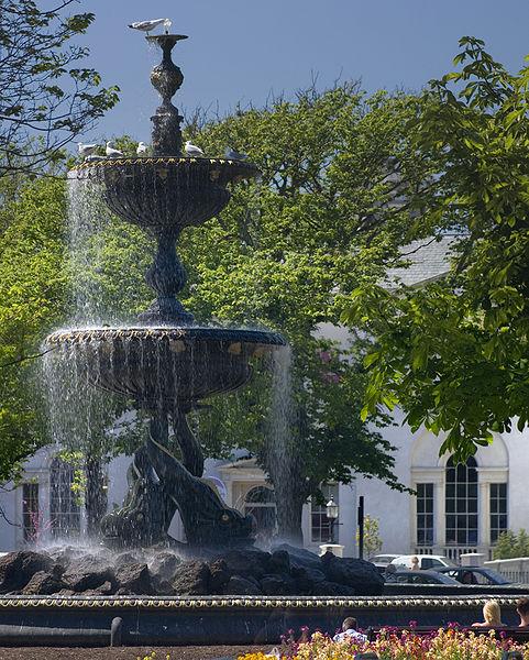 victorian garden fountain Brighton and Hove News » Fountain safety concerns raised