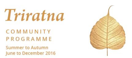 Triratna Community Programme