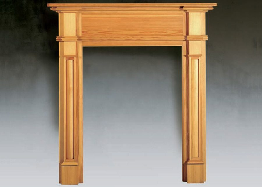 The Small Regency Traditional Wood Fireplace Surround