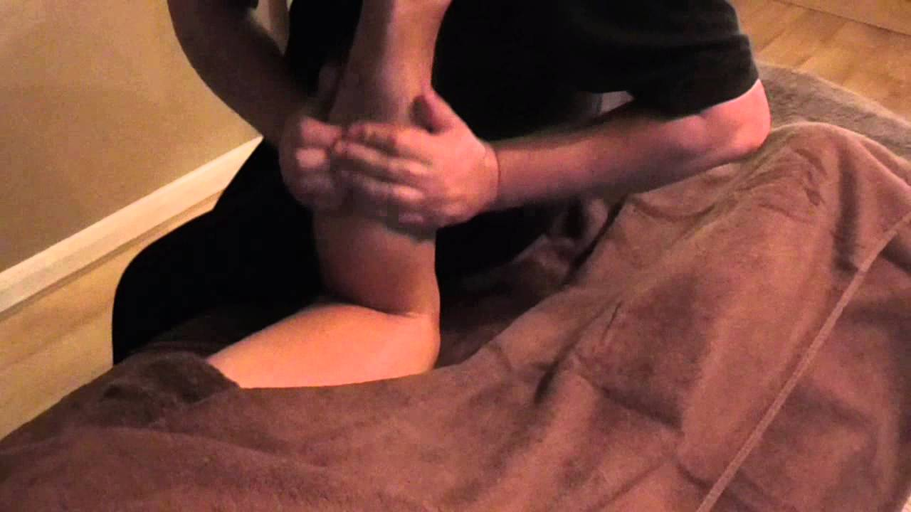 Basic Gastrocnemius Massage Demonstration by Brighton Holistics