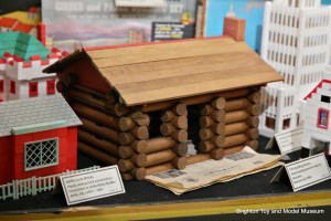 Lincoln Logs construction sets