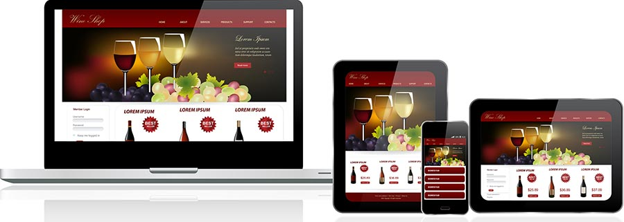 BrightShadow Business Solutions Responsive Web Design