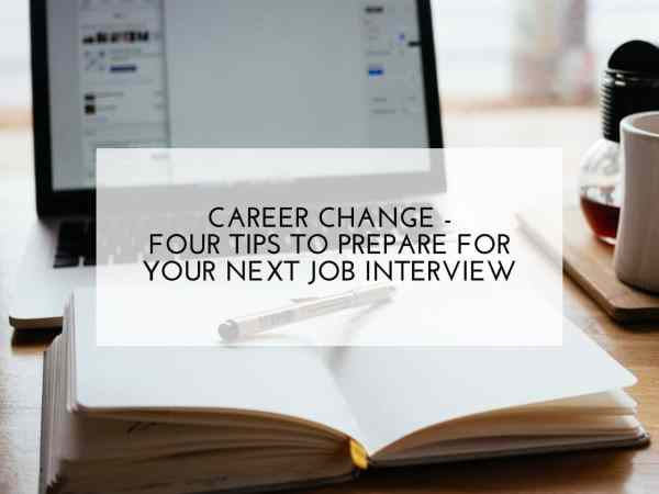 prepare for your next job interview